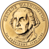 George Washington $1 Coin obverse