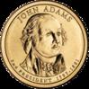 John Adams $1 Coin obverse