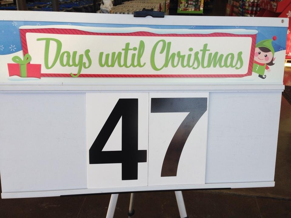 You counting down the days until Christmas yet?