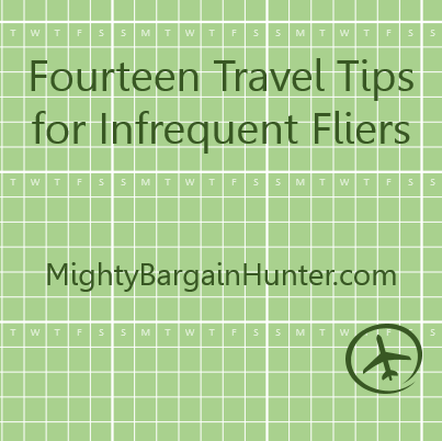 Tips for Infrequent Fliers