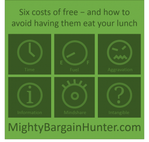 The six costs of free and how to avoid having them eat your lunch