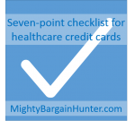 Seven-point checklist for healthcare credit cards