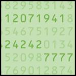 Fancy serial numbers: Dollar bills worth money