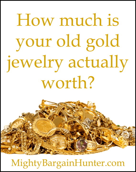 How much is that gold jewelry worth Mighty Bargain Hunter
