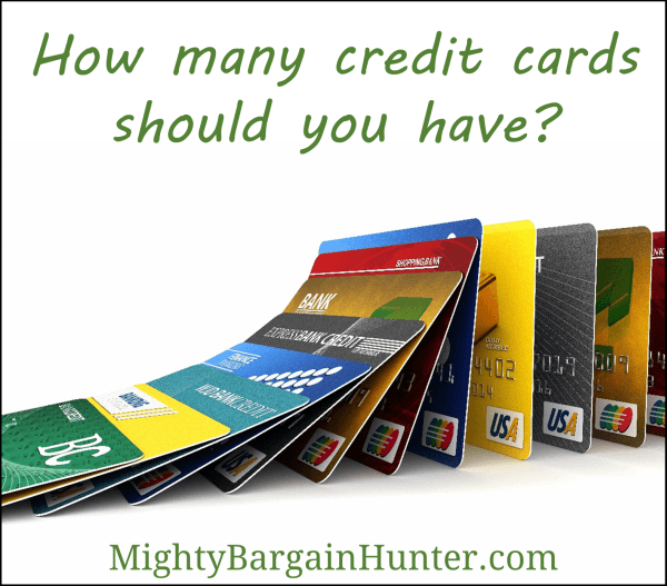 How many credit cards should you have mighty bargain hunter for How many business cards should i order