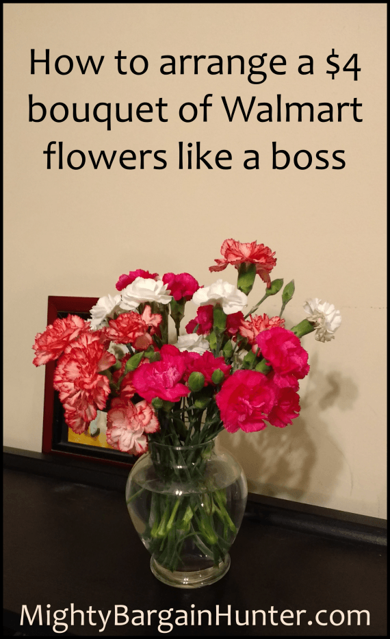 How to arrange flowers like a boss - Mighty Bargain Hunter